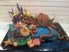 Octopus Cake Creative kitchen Ft. Smith AR
