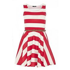 striped bridesmaid dress