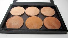 6 bronzosító 1 Z Palettában + a teljes költözés folyamata   Depotting MAC MSFs into Domed Z Palettes