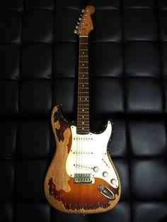 Fossilized Fender Strat