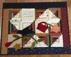 """patterns by Quilts by Cheri.  This one is called """"A Good Day""""."""