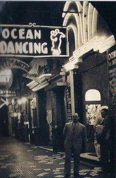 Argentina AntiguaOcean Dancing. Cabaret de la avenida Leandro N Alem. Foto 1939