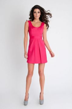 S.I.C. Couture - Bethenny dress in hot pink!
