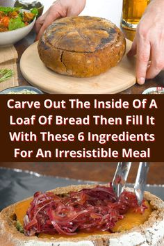 Carve Out The Inside Of A Loaf Of Bread Then Fill It With These 6 Ingredients For An Irresistible Meal #Carve #Out #Inside #Loaf #Bread #Fill #Ingredients #Irresistible #Meal Angelina Jolie Style, Wedding Heels, Creative Eyeliner, Russian Dogs, Deluxe Nails, Reeses Cake, Australian Parrots, Apple Diet, Joggers Shoes
