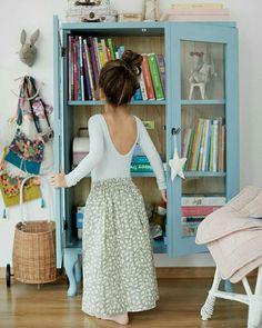 Cute storage idea for kids room
