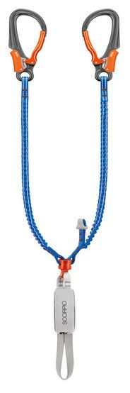 Petzl Other. Via ferrata lanyard with EASHOOK carabiners and anti-twist system Long Extensions, Lanyards, Scorpio, Sliders, Two By Two, Personalized Items, Separate, Parks, Shapes
