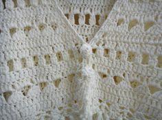 Crochet Fringe Vest Top Summer Beach Bikini por Tinacrochetstudio