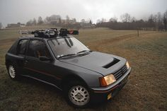 A Peugeot 205 Turbo 16 being put to good use day to day.