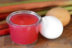 I HATE rhubarb, but mostly for the texture. This rhubarb curd might be the thing to change my mind.