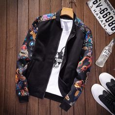Choosing The Right Men's Leather Jackets. A leather coat is a must for every single guy's closet and is also an excellent method to express his personal design. Rose Jacket, Jacket Style, Mens Parka Jacket, Leather Jacket, Japan Fashion, Mens Fashion, Streetwear, Revival Clothing, Jacket Pattern