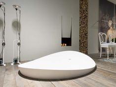 Freistehende Badewanne DUNE von antoniolupi- BA Franck+CO