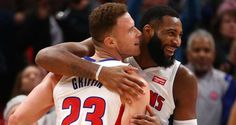 When it comes to the Detroit Pistons, Andre Drummond and Blake Griffin were never guaranteed to be great pals either on or off the court. Los Angeles Clippers, Los Angeles Lakers, Andre Drummond, Blake Griffin, Western Conference, Detroit Pistons, San Antonio Spurs, 25 Years Old, New York Knicks