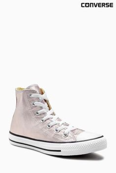 23fb91178196c3 Buy Converse Rose Gold Metallic Chuck Taylor All Star Hi from the Next UK  online shop