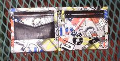 Punk music and black duct tape bi-fold by TrueTransSoulRebel