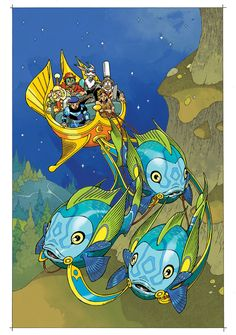 Little Nemo: Return to Slumberland #4 cover by Gabriel Rodriguez. Colors by Nelson Daniel.