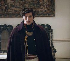 justjamesnorton:James Norton as Prince Andrei Bolkonsky in War & Peace, episode 1.