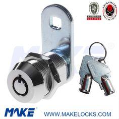 Make locks manufacturer offers different kinds of cam locks, like flat key cam lock, disc key cam lock, tubular key cam lock, laser key cam lock, dimple key cam lock, etc. #camlock #securitylock #makelock
