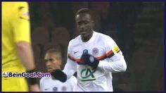 Goal Montaño - PSG 1-2 Montpellier - 22-01-2014 Highlights   BeinGoal.Com
