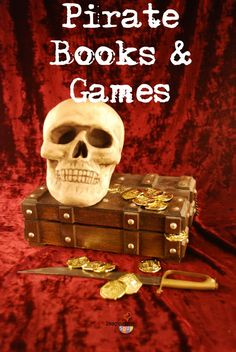 good books to read with kids about pirates plus some fun games to play #pirates #kids #books #childrenbooks