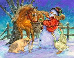 Snowman by Donna Race