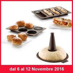 SQUISITA PROMOZIONE  Nella settimana dal 6 Novembre al 12 Novembre trovi la serie Stampo Rosette, Stampo Baguette, Stampo Bagel di Lékué in promo al 15%  http://www.cucinaincasa.com/novita/promozioni/sconti/stampi-rosettebaguette-baguel-lekue-sconto-20  #villamontesiro #fratelli_villamontesiro #villa_casalinghi #ul_piatè_de_munt