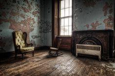 Abandoned asylums. So scary
