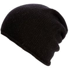 Belmondo Hat schwarz (€29) ❤ liked on Polyvore featuring accessories, hats, beanies, gorros, black, beanie hats, beanie cap, belmondo and beanie cap hat