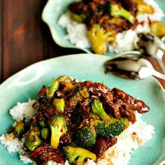 Beef with Broccoli (Crockpot) substitute with chicken