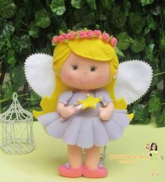 DIY Felt Fairy - FREE Pattern / Template