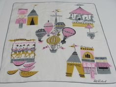 Vintage Collectable Hanky Pat Prichard State Fair by SunDriedLinen, $25.00