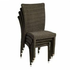Caribbean Palms 4-pc. Bari Wicker Outdoor Chair Set