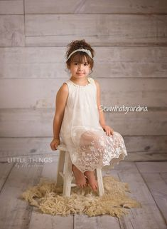 Off White Baptism Dress Rustic Styled Lace Dress Girl Floral White Birthday Dress, White Baptism Dress, Birthday Dresses, Baptism Outfit, Lace Flower Girls, Flower Dresses, Little Girl Photos, Kid Photos, Little Girl Photography