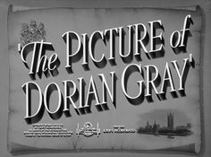 The Picture of Dorian Gray (1945) Blu-ray movie title