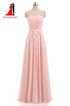 Nuovi abiti da damigella di chiffon rosa lilla 2018 Plus Size Abito da  cerimonia nuziale damigella d onore Abito lungo da promenade con cintura.  Wedding ... 57c5c5aa75d5