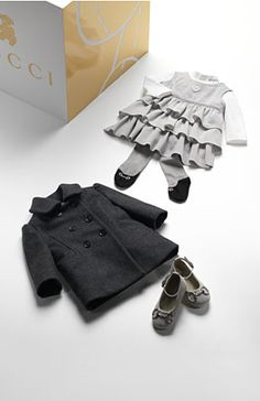 cutest baby clothes ever by gucci...i'm going to learn how to make these