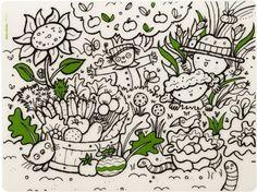 Placemat : Garden Play