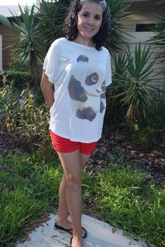 A Cute Panda Shirt | The Color Wheel Gallery