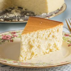Tall & Creamy New York Cheesecake -  Art_and_the_Kitchen