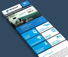 Responsive metro redesign by Yasser Achachi , via Behance