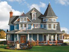 Gorgeous Sienna Harbor Victorian home
