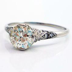 Ageless Heirlooms – Diamond Cuts FAQ: What is an Old European Cut Diamond?