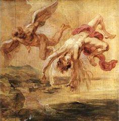 The Fall of Icarus, Peter Paul Rubens (1636-1638)