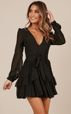 46 Trendy Womens Little Black Dress Ideas That Looks So Cute - Cocktail dresses are some of the most popular types of dresses for women for many reasons. There is a dress for any body type and there are countless . Elegant Dresses, Pretty Dresses, Casual Dresses, Fashion Dresses, Formal Dresses, Sweater Dresses, Fashion Dolls, Vintage Dresses, Hoco Dresses
