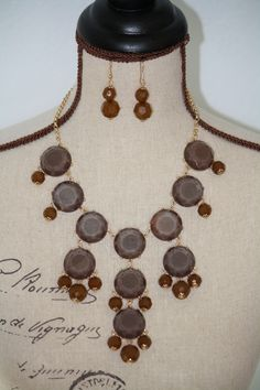 Gorgeous Fall & Winter Bubble Necklace  - $29.00 FInd it on our site: http://www.facebook.com/armcandyauctions