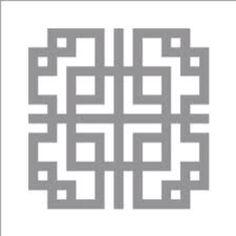 Korean stencil pattern