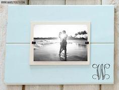 Monogrammed Custom Wood Photo Frame