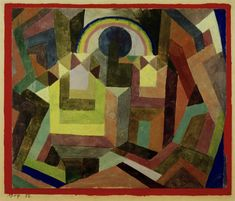 Paul Klee - mit dem Regenbogen, 1917, 56.