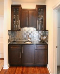 Wet Bar Design Project That Fits Perfectly In A Formal Dining Room Or Even The