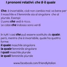 I pronomi relativi 1