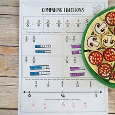 Comparing Fractions Comparing Fractions, Teaching Fractions, 4th Grade Fractions, Third Grade Math, Problem Solving Activities, Fraction Activities, More And Less, Student Learning